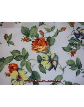 Tissu Fleurs  A082