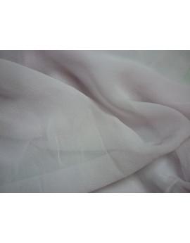 Tissu Mousseline  de Soie Rose Parme 129