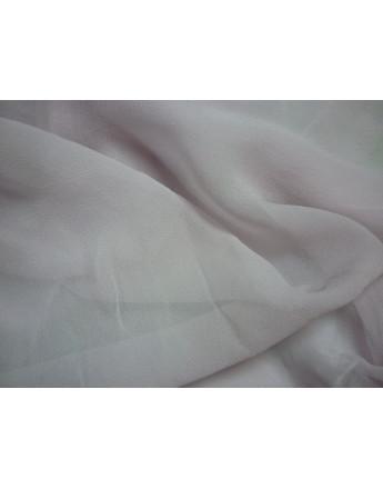 Tissu Mousseline  de Soie Rose Parme