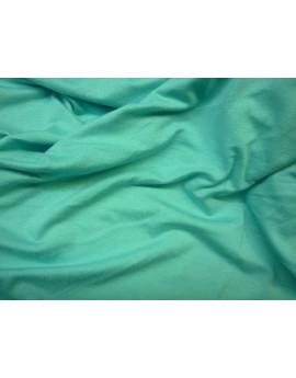 Tissu Jersey Uni Turquoise