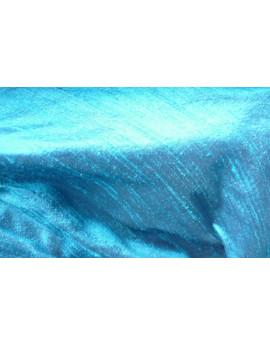 Tissu Soie Sauvage Turquoise