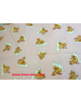 Tissu Piqué Coton Enfants A001