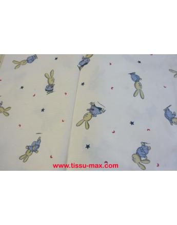 Coupon Tissu Enfants Piqué Coton A005 3M