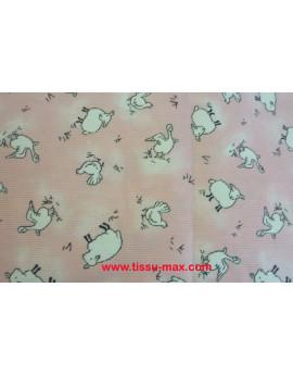 Tissu Enfants Piqué Coton A008