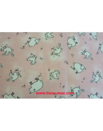 Coupon Tissu Enfants Piqué Coton A008 3m