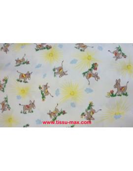 Coupon Tissu Enfants Piqué Coton A0010 3M
