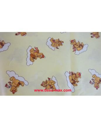 Coupon Tissu Enfants Piqué Coton A0011 3M