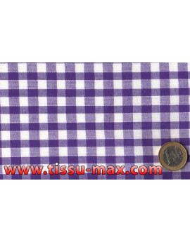 Vichy Moyens Carreaux Violets