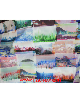 Polyester Imprimé  B01