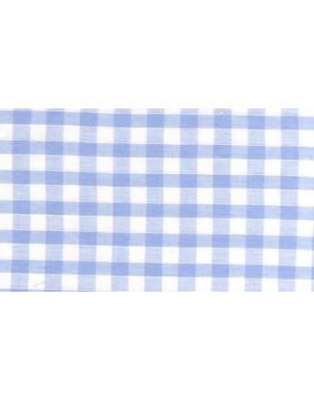Vichy Moyens Carreaux Bleus Ciel