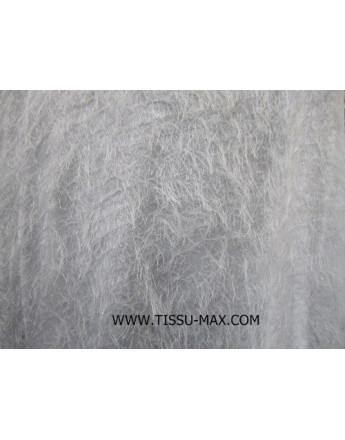 Tissu Polyester Charleston Blanc
