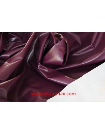 Tissu Similicuir Souple Violet