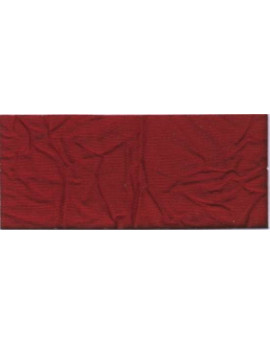 Tissu Taffetas Uni Froissé 03 - Couleur Rouge