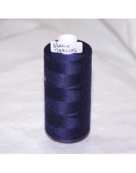bobine de fils bleu marine 9068