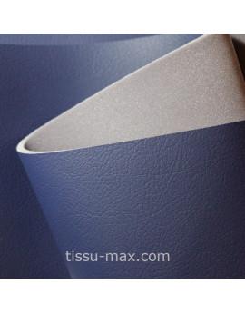 silimi cuir bleu marine