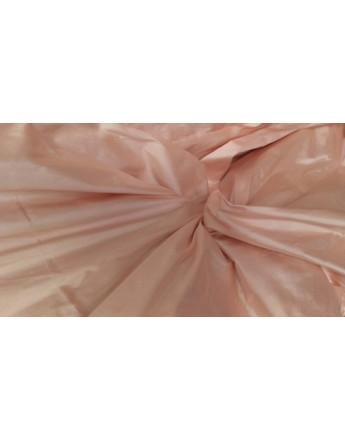 soie sauvage rose saumoné