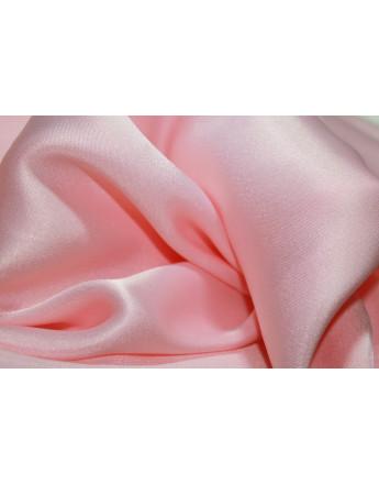 satin de soie rose pale