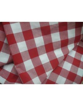 tissu vichy grand carreaux