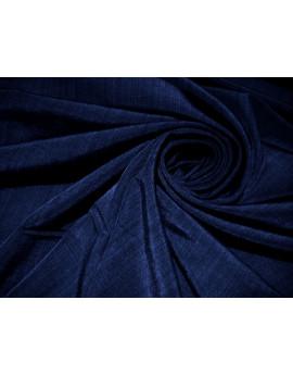 tissu polyester bleu roi