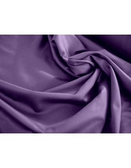 Tissu Coton satin violet