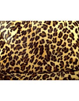 léopard fond caramel 25K