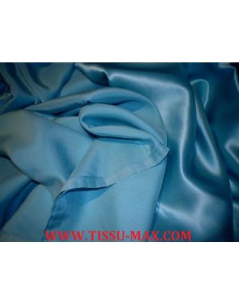 Satin de soie Turquoise