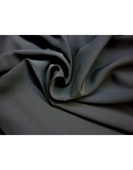 Tissu Crep de Soie Noir