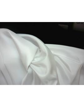Doublure pongé de soie blanc 99