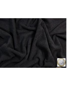 tissu laine gris