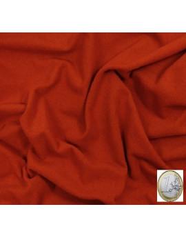 tissu laine orange