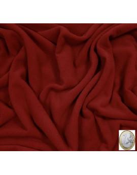 laine rouge foncé