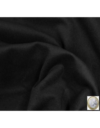 velours de laine noir