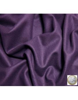 velours de laine violet clair