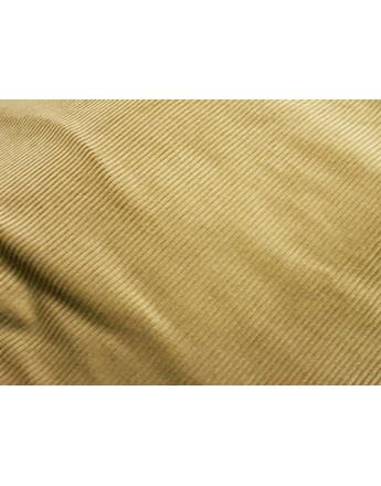 Tissu Velour Cotelé vert kaki pale
