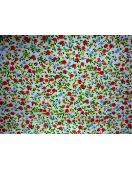 Tissu Coton Fleurs 006