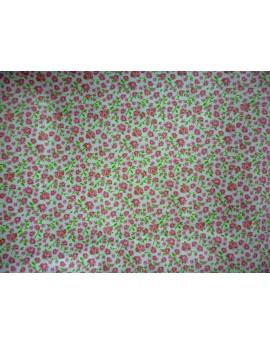 Tissu Coton Fleurs 007