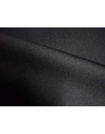 Gabardine Laine Polyester Noir