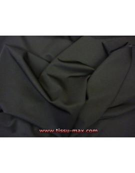 tissus extensible ignufigé ( noir )