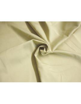 Tissu Coton de satin Beige