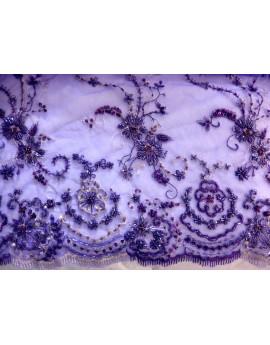 Dentelle Perlé Violet 98
