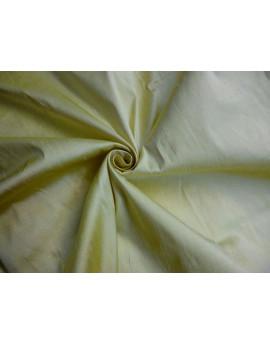 Tissu Soie Sauvage Jaune Pâle 74