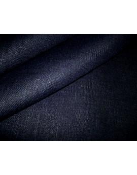 Tissu Lin Bleu Marine 97