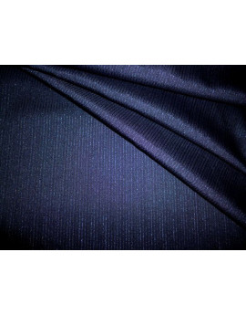 Tissu Laine Bleu Nuit