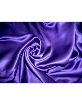 Tissu Satin Violet foncé Polyester 94
