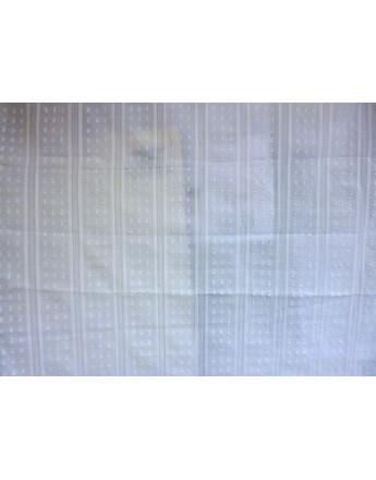 Tissu Coton Brodé 86