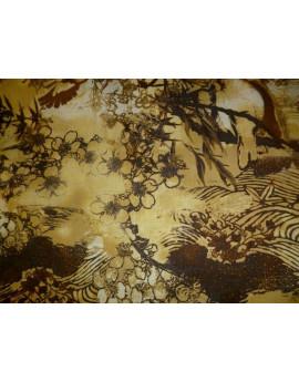 Tissu Coton des Fleurs 86