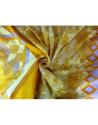 Tissu Voile de Coton Imprimé 85