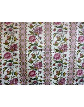 Tissu Coton de Satin Imprimé 81