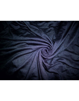 Tissu Jersey Coton Uni Bleu Marine