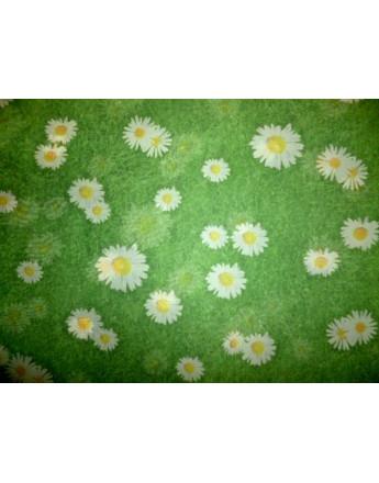 Tissu Mousseline Polyester Imprimée 78